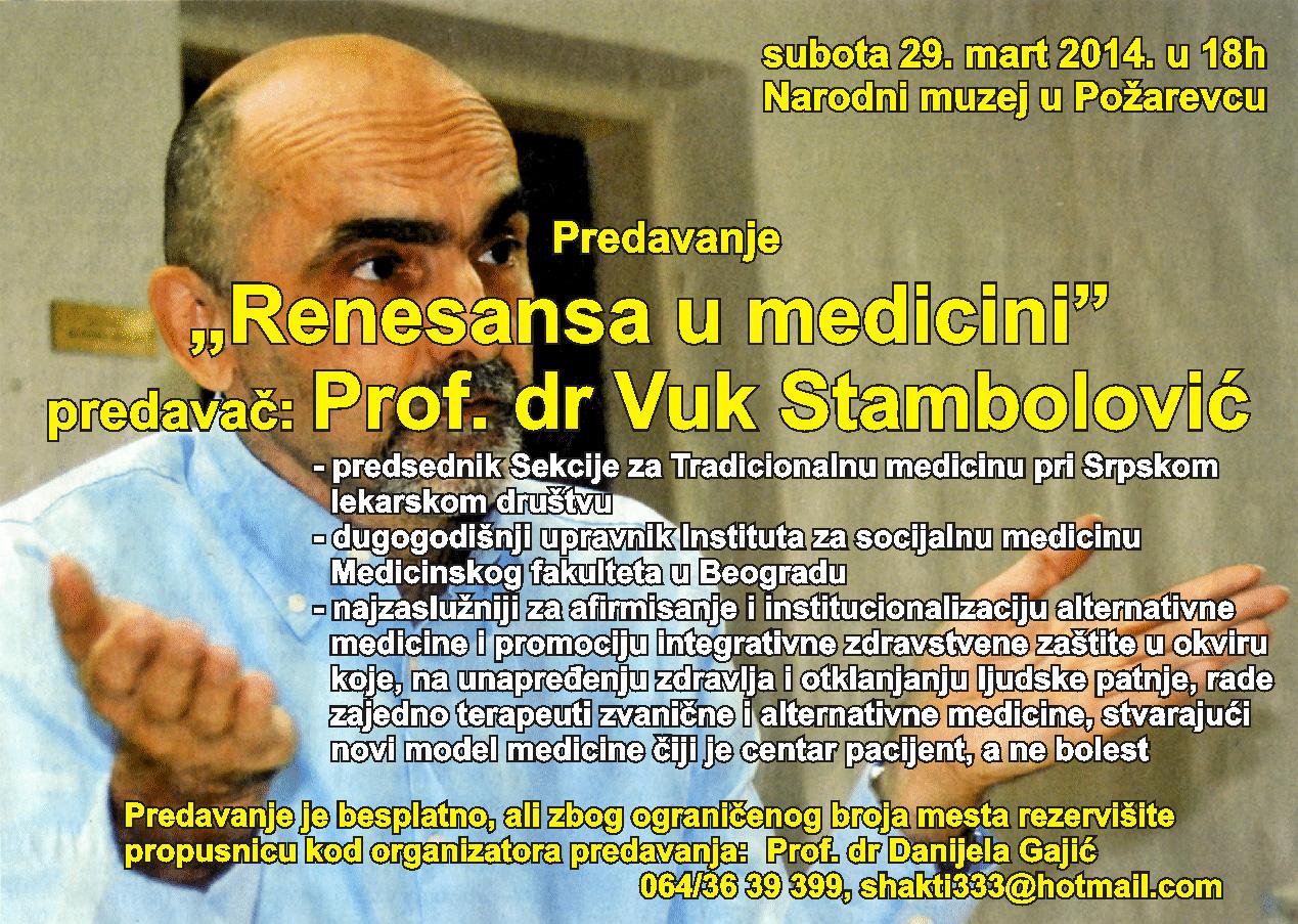 Vuk Stambolovic, mart 2014