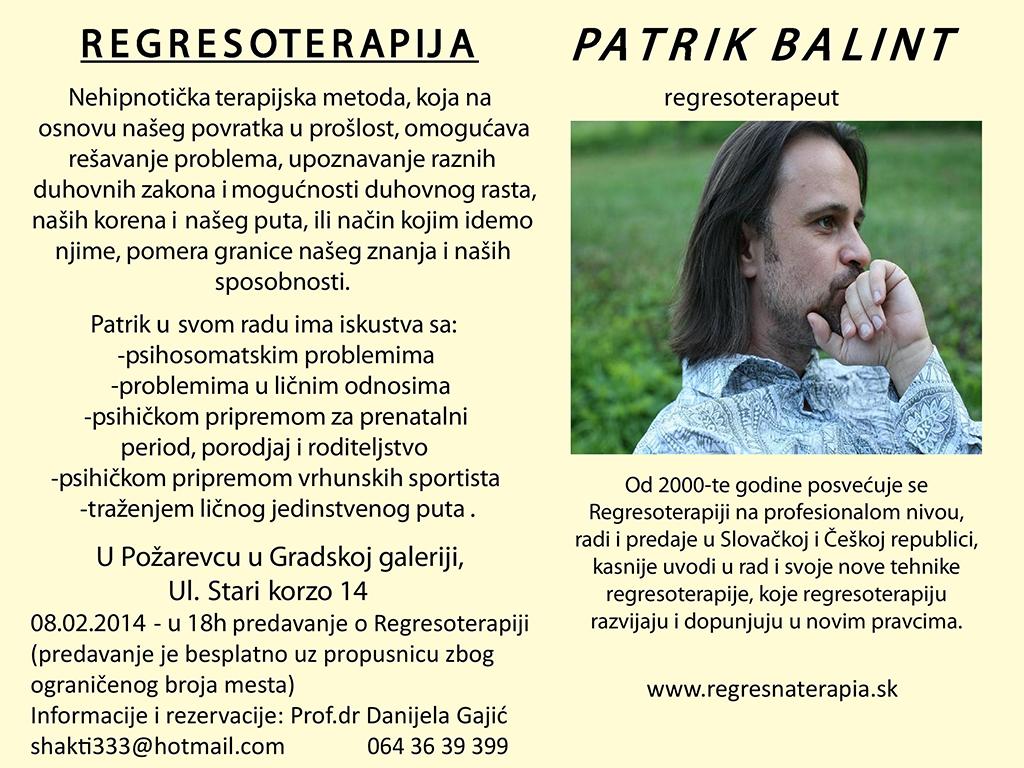 Patrik Balint, februar 2014