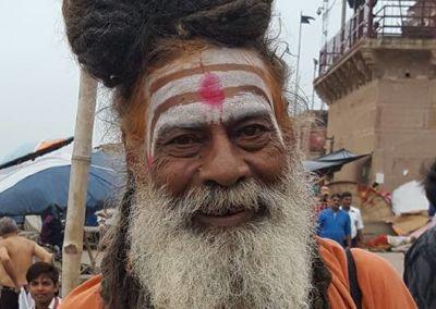 Sadhu, sveti covek, Varanasi